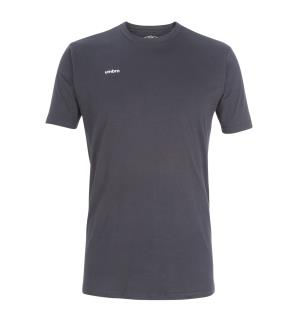 UMBRO Core Cotton Stretch Tee Sort XS Rundhalset t-skjorte